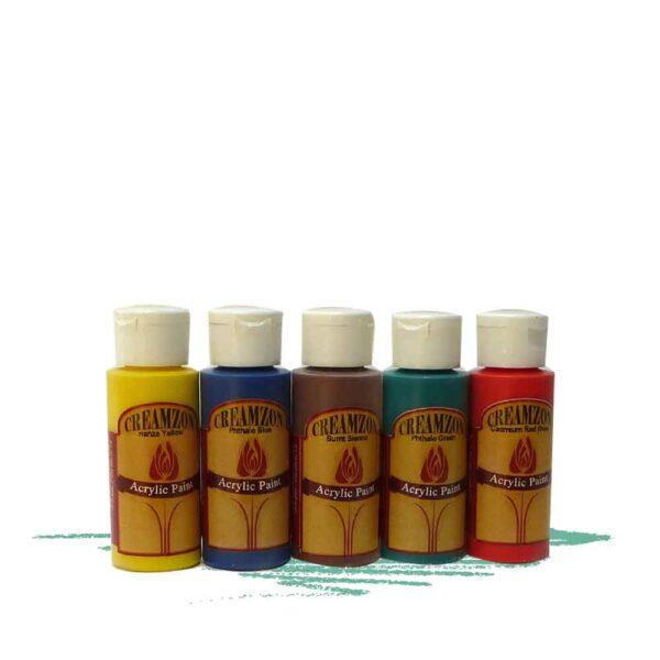 צבעי אקרילי לצביעה וקישוט של מוצרי עץ