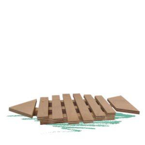 בניית תחתית לסירים בצורת דג