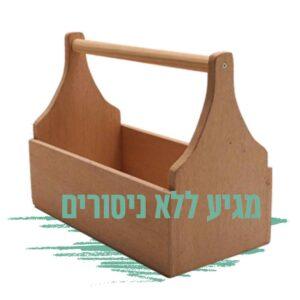 ארגז כלים לבניה עצמית עם חיתוכי מסורית - נגרות למתקדמים