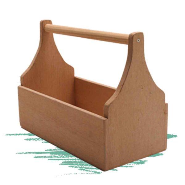 בניית ארגז כלים מעץ - נגרות לילדים