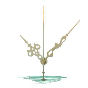 מנגנון מתכת לשעון - צבע מוזהב