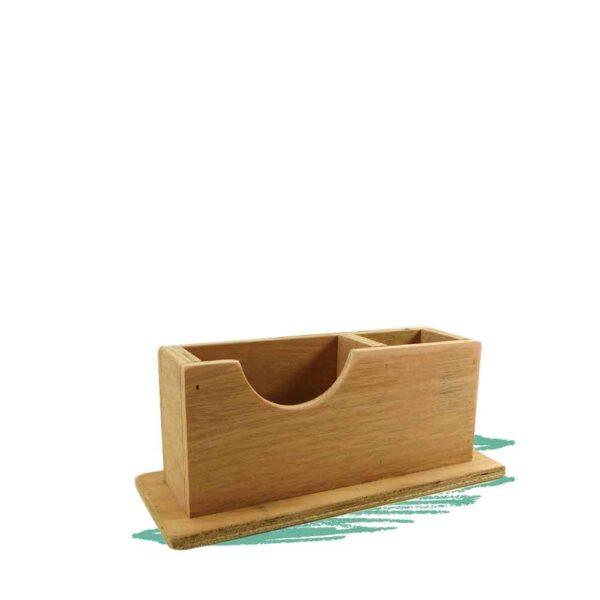 מעמד לניירות ועטים ניצב - בנייה בעץ