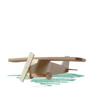 אוירון מעץ לבנייה עצמית