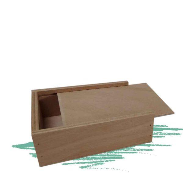 בניית קופסה מעץ עם מכסה נשלף