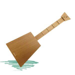 ילדים בונים גיטרה צעצוע מעץ