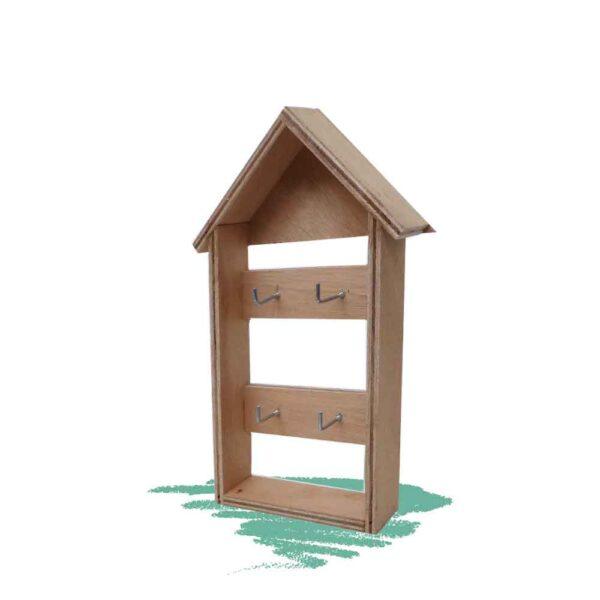 בית מפתחות - בנייה מעץ