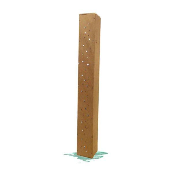 בניית מקל גשם מעץ