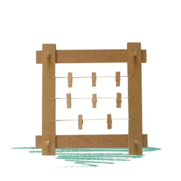 יצירת לוח תזכורת מעץ