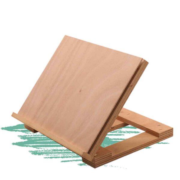 בניית סטנדר שולחני מעץ