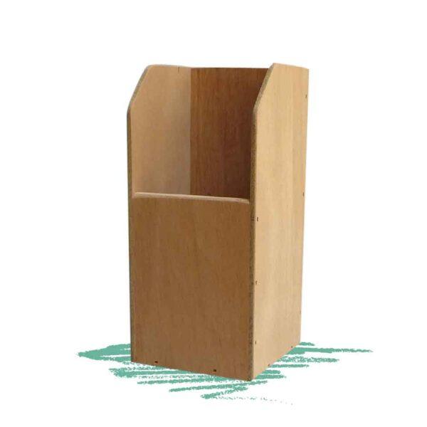 בניית מעמד עץ לכלי כתיבה