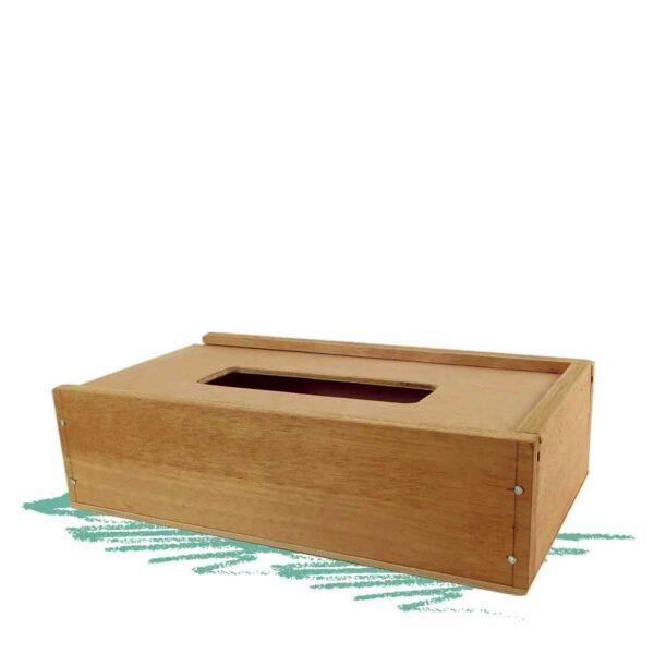 קופסת עץ לטישו לבנייה בעזרת פטיש ומסמרים