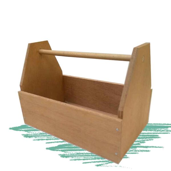 ארגז כלים מעץ להרכבה עצמאית